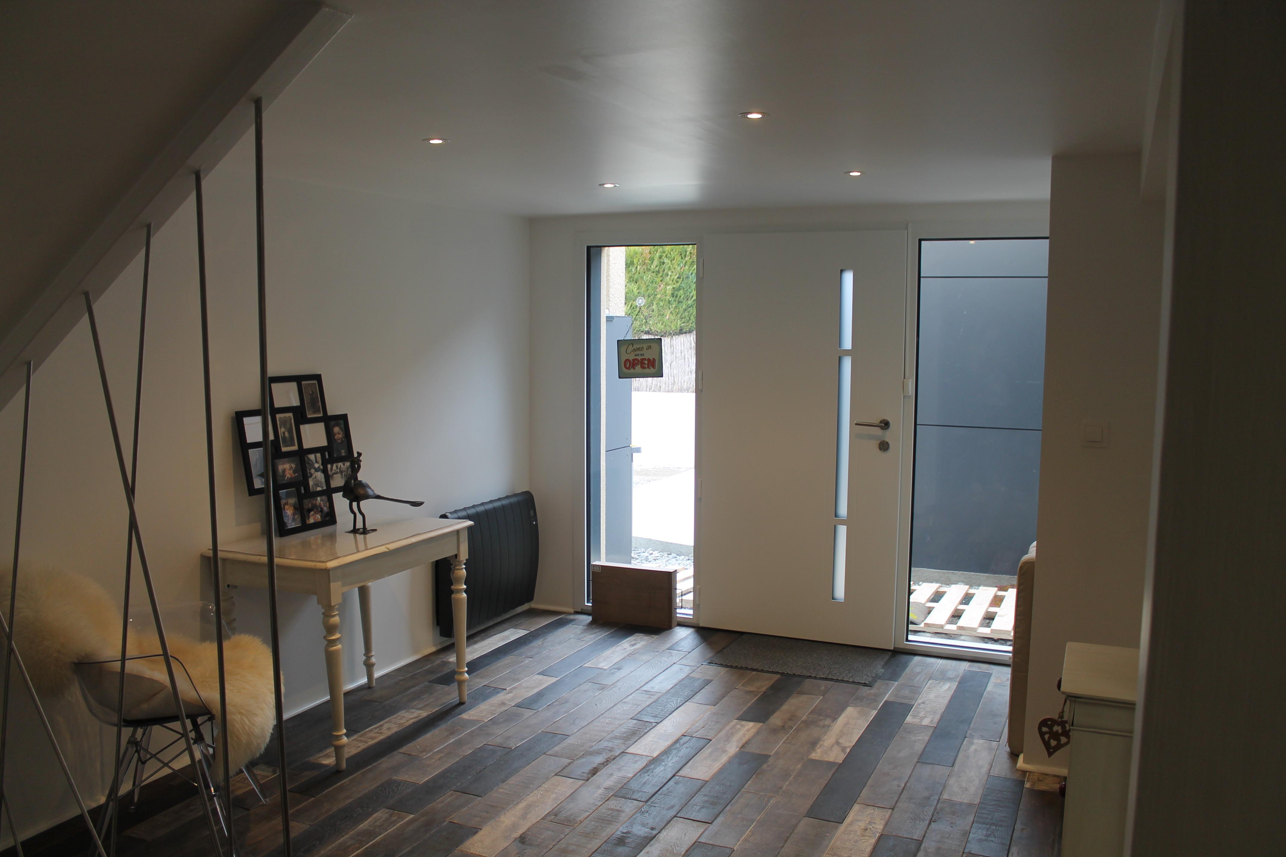 Vue interieur maisons caract re bois maison de r ve en - Interieur de maison de reve ...