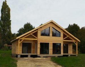 realisations maisons caract re bois maison de r ve en bois. Black Bedroom Furniture Sets. Home Design Ideas